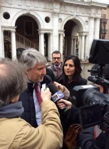 Arrivo Poletti a Vicenza